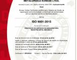 Certificadi ISO - 9001-2015